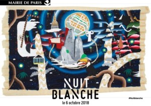 Nuit Blanche poster 2018