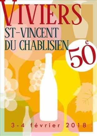 St Vincent du Chablisien poster
