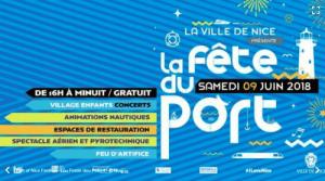 Nice Port Festival poster