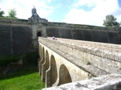 Entrance to the Blaye Citadelle