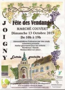 Joigny Wine Festival Poster