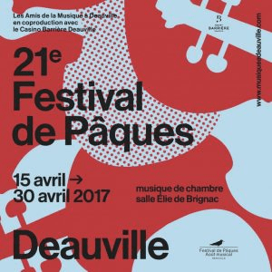 Deauville music festival poster