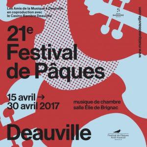 Deauville music festival poster