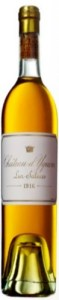 Bottle of Chateau d'Yquem