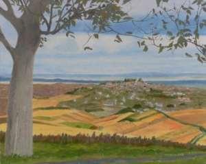 November view of Sancerre © Drew Hetherington