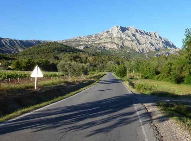 Montagne Sainte Victoire, Bouches-du-Rhone,Provence