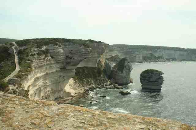 the coast of Corsica