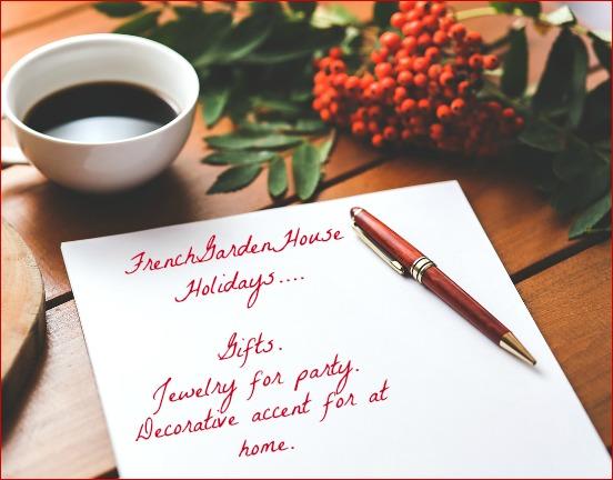 FrenchGardenHouse Holidays