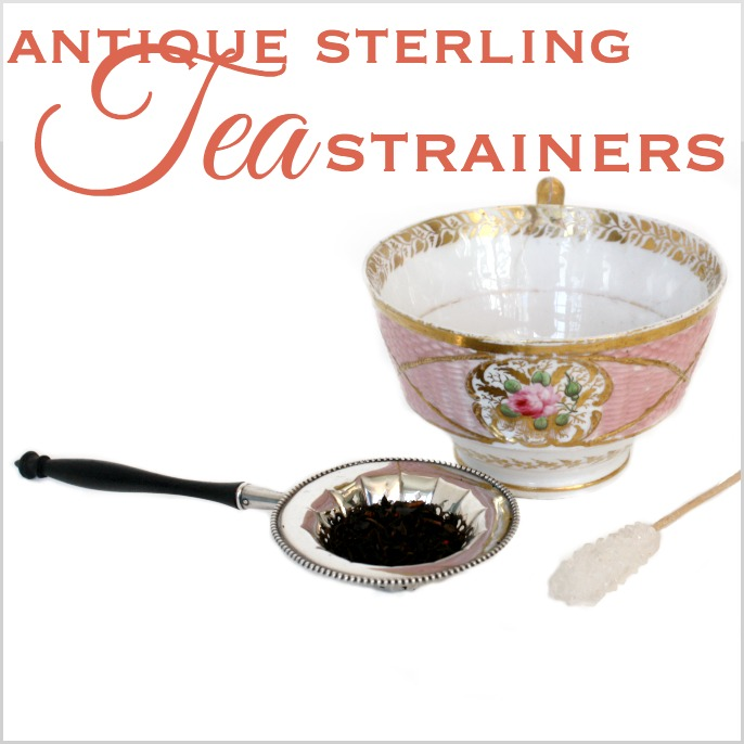 Secret Life of Antiques | Sterling Silver Tea Strainers