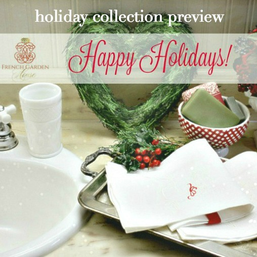 Holiday Collection Preview & Announcing a WINNER