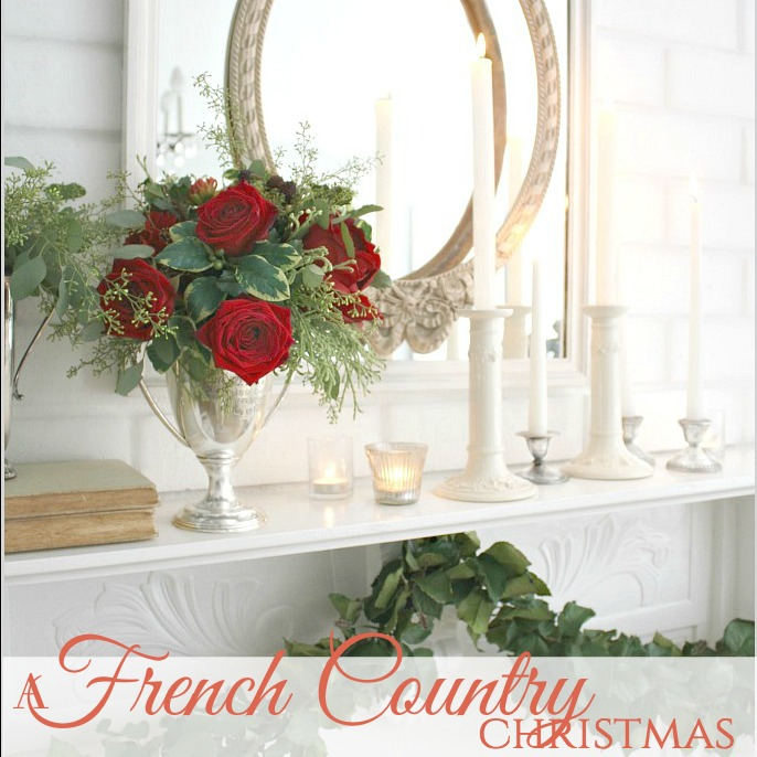 A French Country Christmas | HOME TOUR 2016