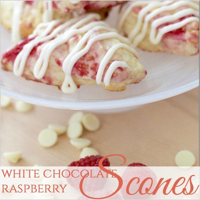Amazing Make-Ahead WHITE CHOCOLATE RASPBERRY SCONES