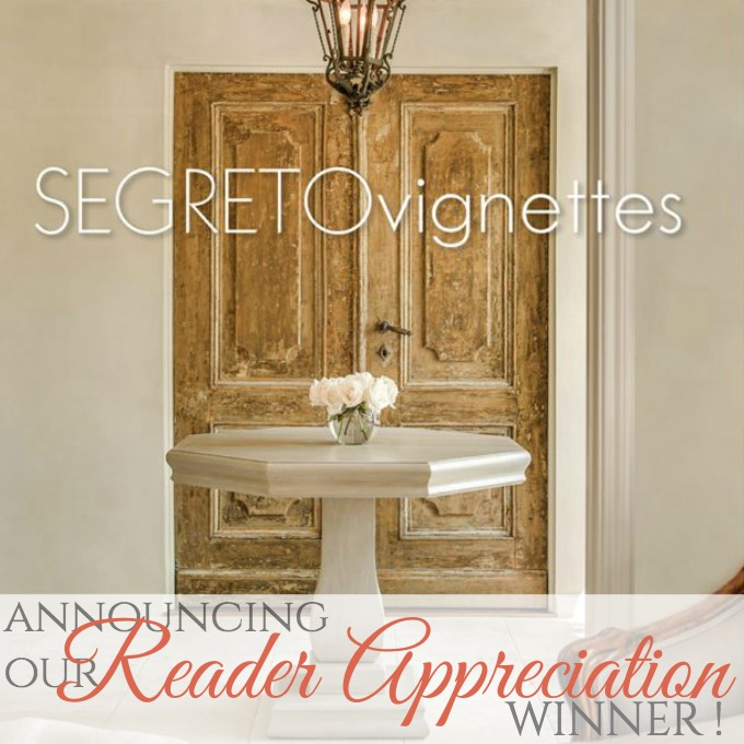WINNER of our FrenchGardenHouse Reader Appreciation GIVEAWAY