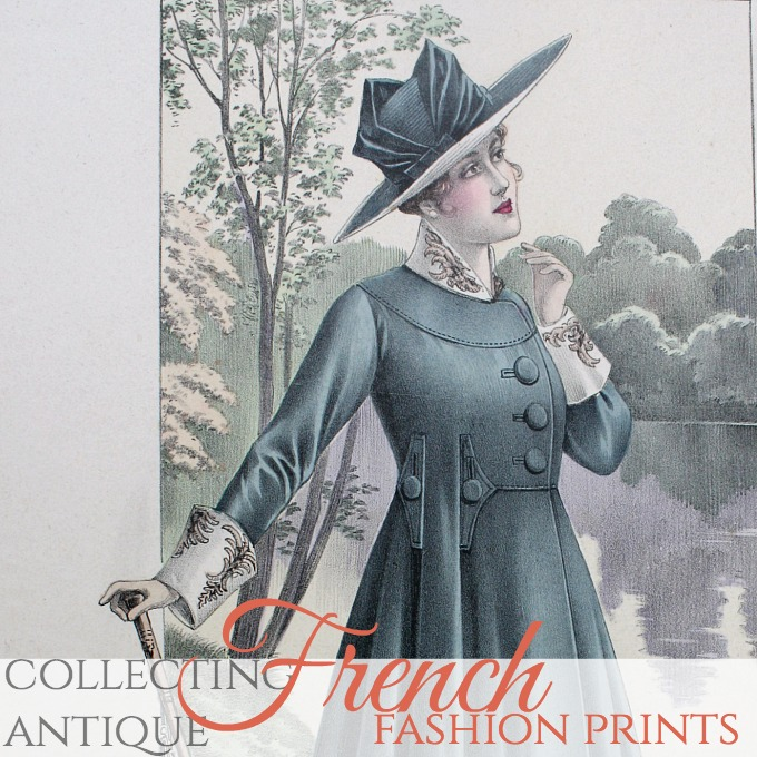 Collecting | Antique French Fashion Prints
