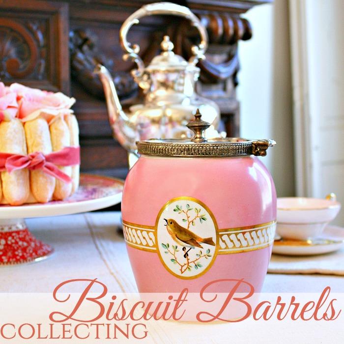 Secret Life of Antiques| Biscuit Barrels