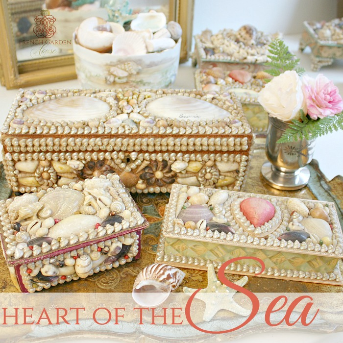 COLLECTING VICTORIAN SHELL SOUVENIRS with VICTORIAN HOMES MAGAZINE