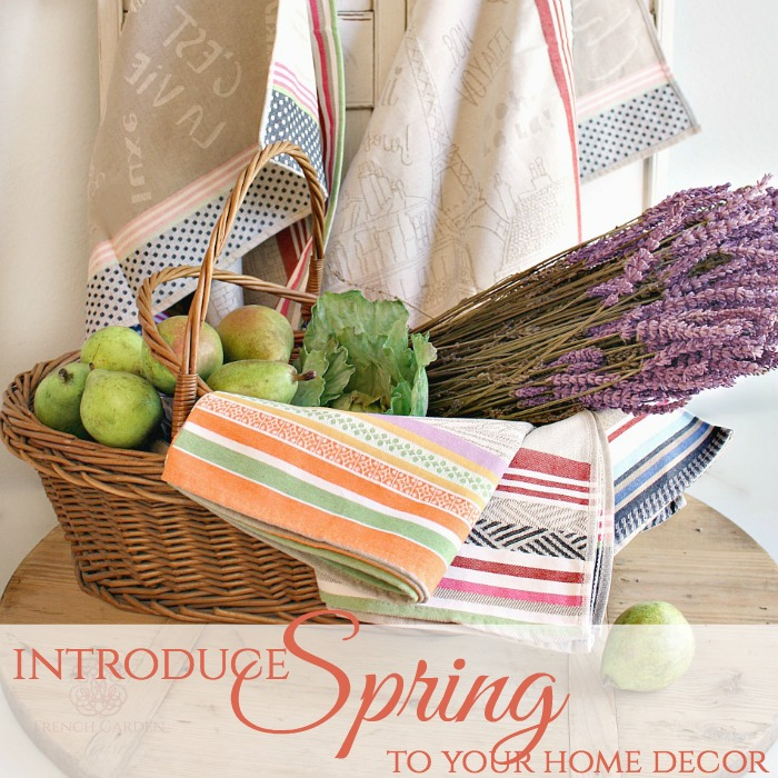 Introduce a Breath of Spring to your Home Decor