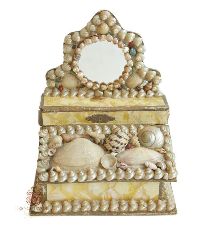 Victorian Shellwork Dresser