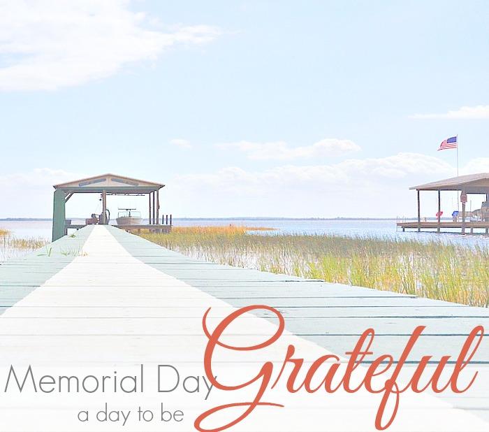 MEMORIAL DAY | GRATEFUL