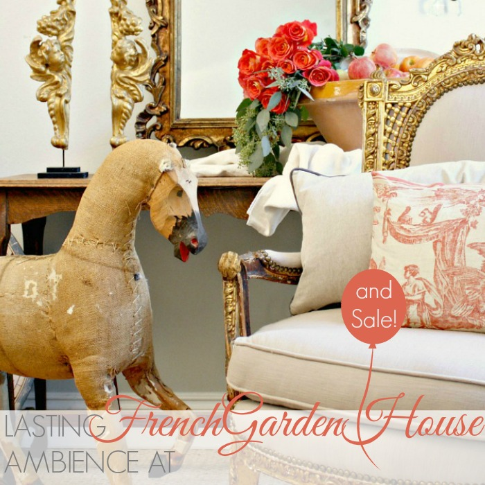 LASTING AMBIENCE AT FRENCHGARDENHOUSE