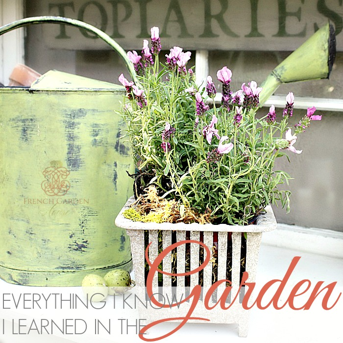 Reblogged | EVERYTHING I KNOW I LEARNED IN THE GARDEN