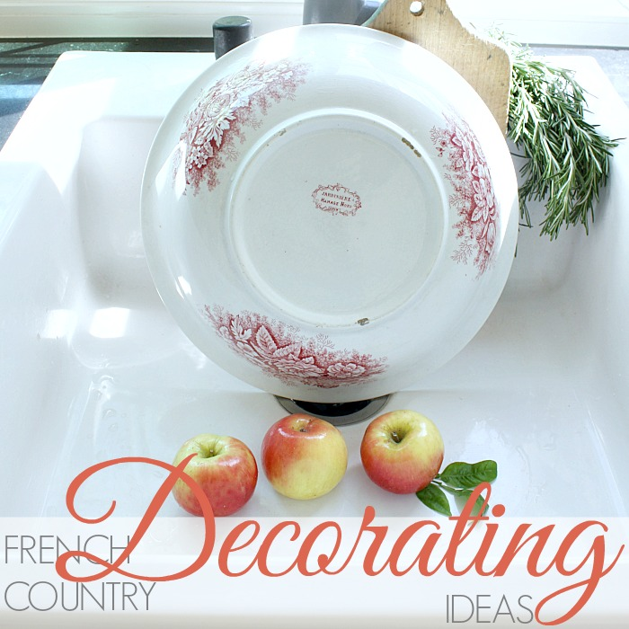 FRENCH COUNTRY DECORATING with Antiquités de Cuisine