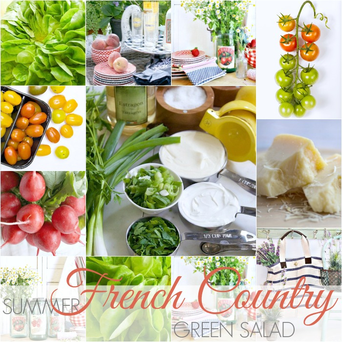 SUMMER FRENCH COUNTRY GREEN SALAD