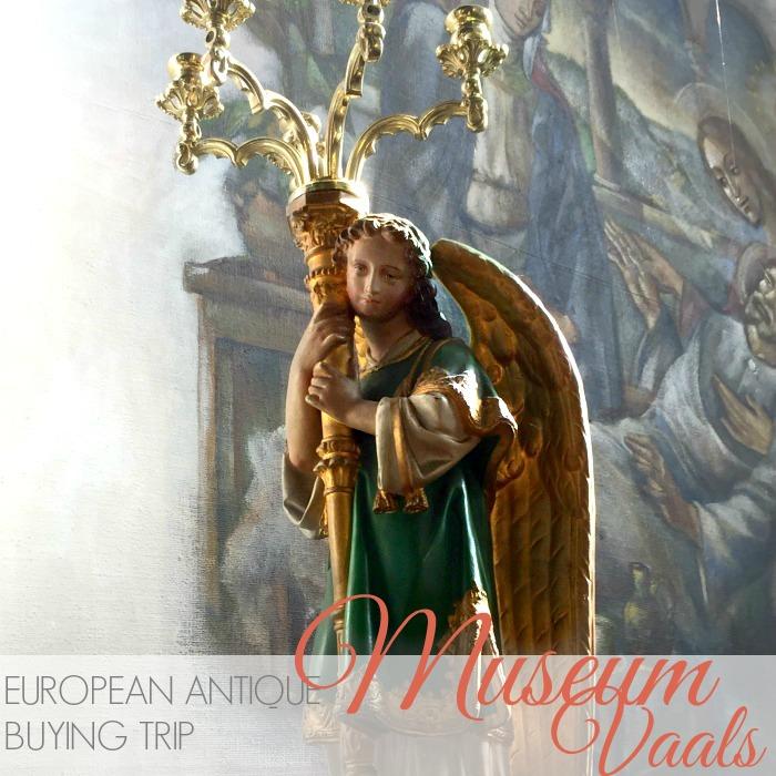 EUROPEAN ANTIQUES BUYING TRIP   RELIGIOUS MUSEUM VAALS
