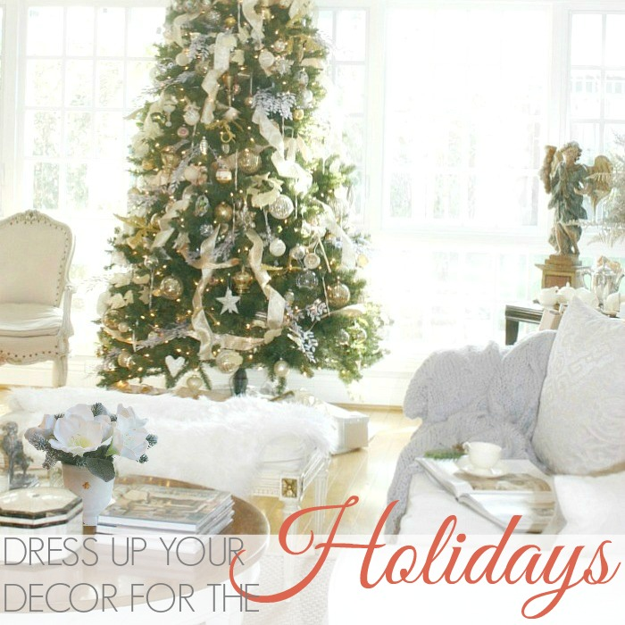 DRESS UP YOUR DECOR FOR THE HOLIDAYS
