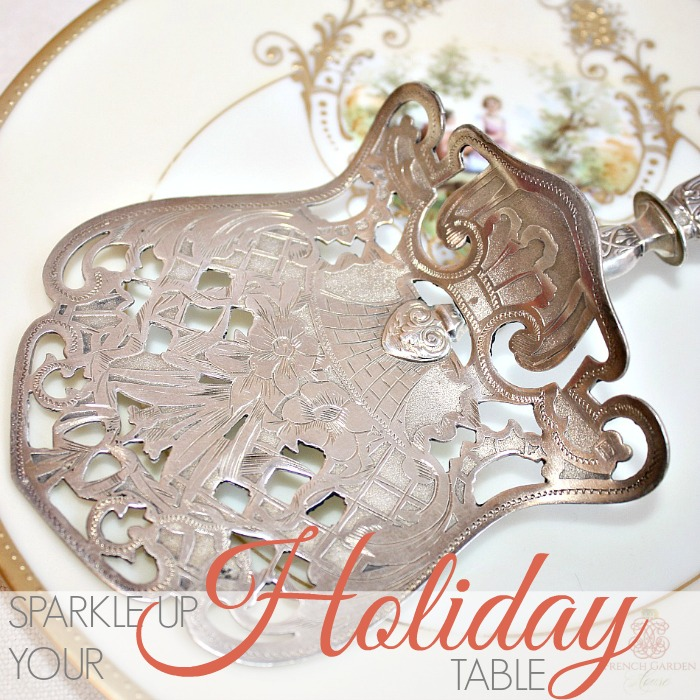 SPARKLE UP YOUR HOLIDAY TABLE