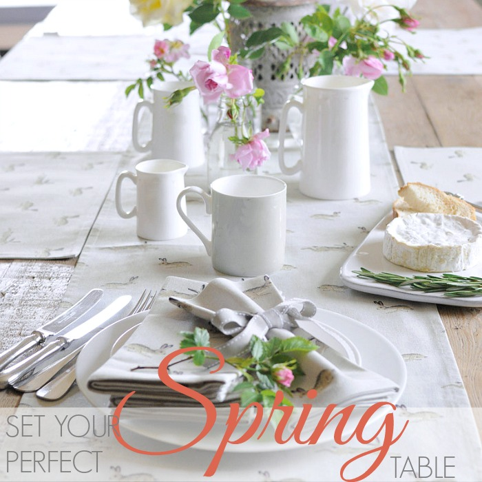 SET THE PERFECT SPRING TABLE