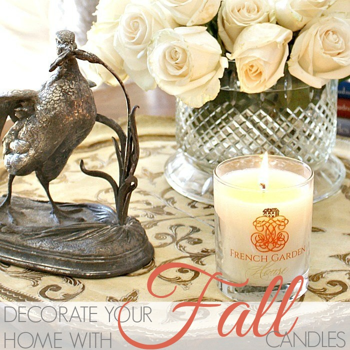 HOW TO DECORATE WITH FALL CANDLES