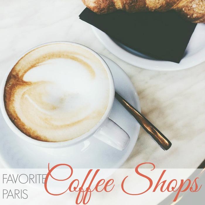 FAVORITE COFFEE SHOPS IN PARIS