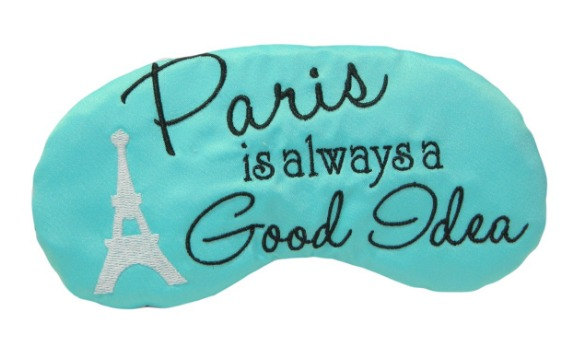 Paris sleep mask