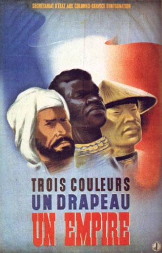 Vichy Era Colonial Poster