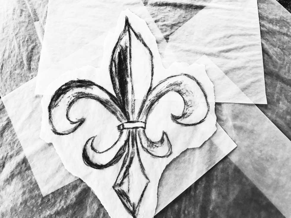 say fleur de lis in french