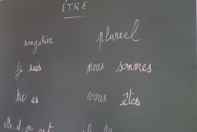 De La Vieille école – French Expression