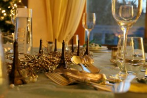 French Holiday Table
