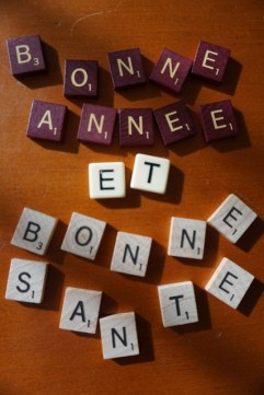 say happy new year in french
