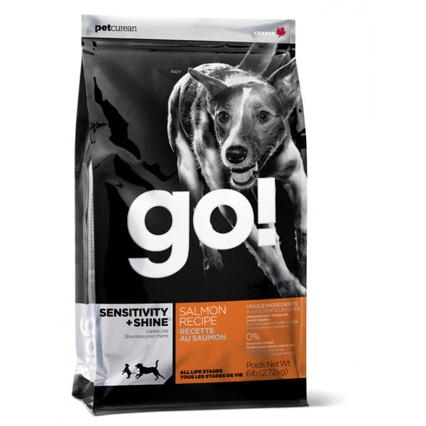 pienso perros go sensitive shine salmon hipoalergenico