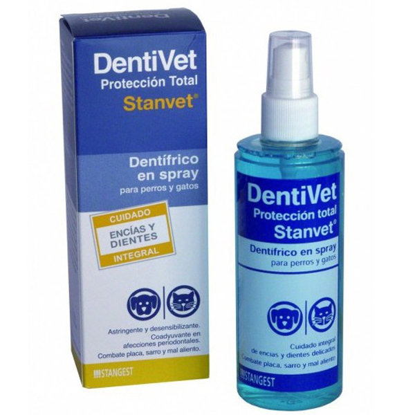 spray higiene dental perros dentifrico liquido proteccion total dentivet stangest