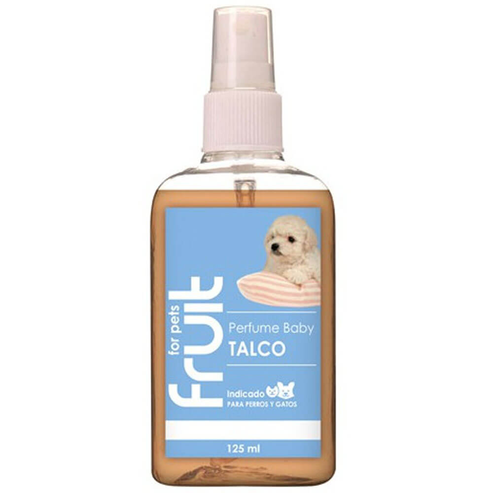 colonia perfume perros fruit for pets talco baby 125ml
