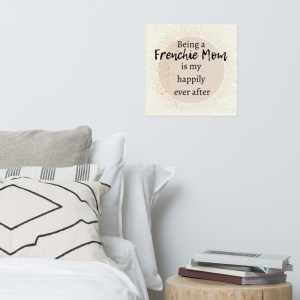 Frenchie Happily Ever After poster art