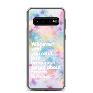 Frenchie Happiness tie dye Samsung Case