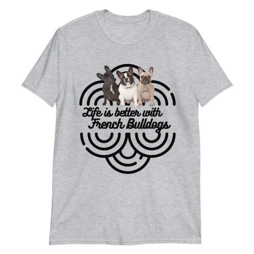 French Bulldogs Unisex T-Shirt
