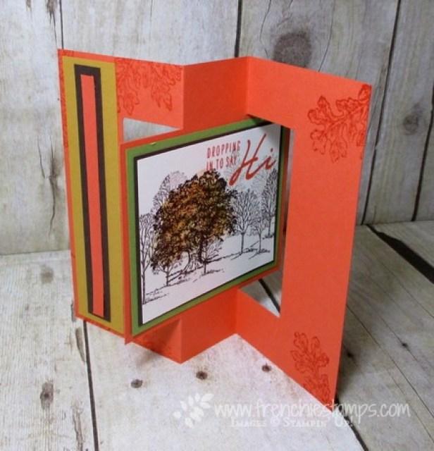 Fancy Fold Swing/Flip card Blog Hop