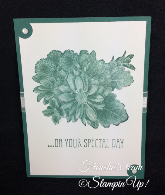 Heartfelt Booms, Sale a Bration and Occasion Stampin'Up! 2018, Frenchie stamps in the Spotlight,