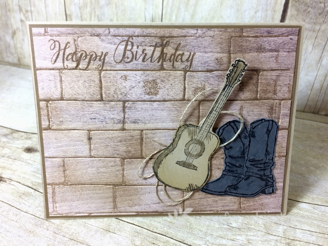 Country Livin', Wood Textures, stampin'Up!, Designer Paper Share