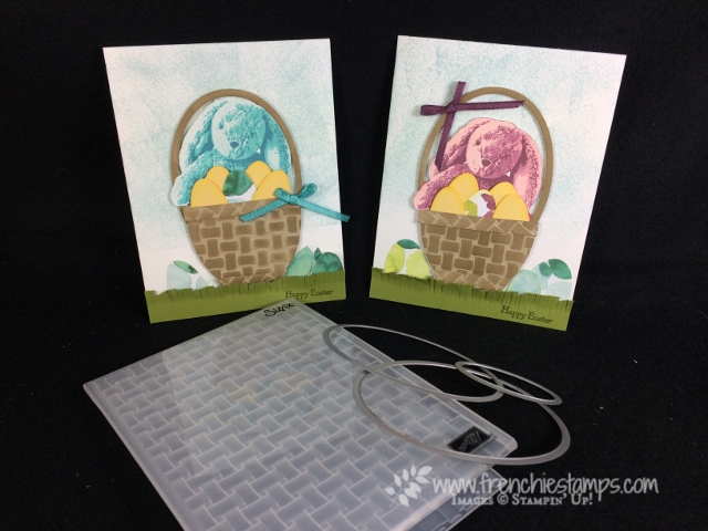 Sweet Little Something, Basket Weave, Layering Ovals Framelits, Teeny Tiny Wishes, Stampin'Up!