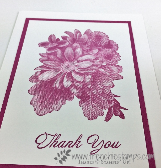 Heartfelt Blooms, DIY Greeting Cards, Berry Burst, Stampin'Up!